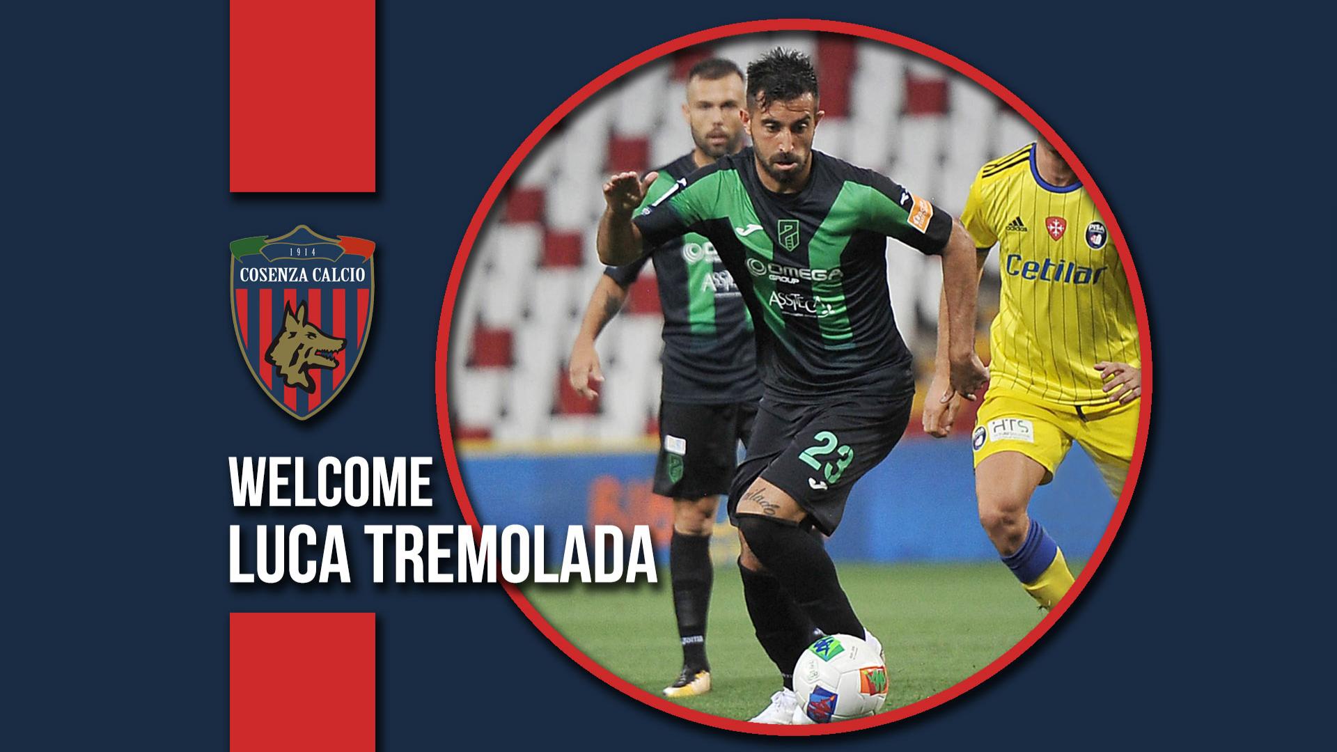 Notizie dal Cosenza Calcio: Luca Tremolada è un nuovo giocatore rossoblù.