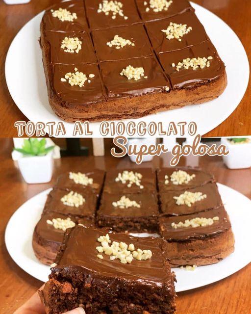 Oggi CucinAda: torta al cioccolato super golosa riciclo uova di Pasqua.