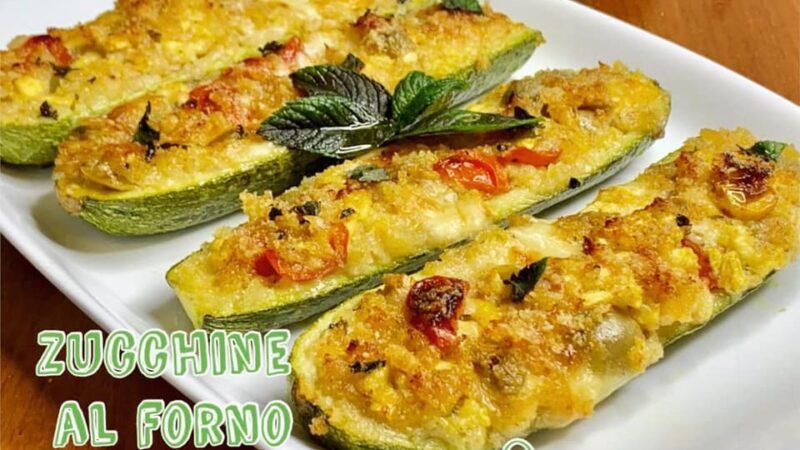 Oggi CucinAda: zucchine al forno ricetta velocissima