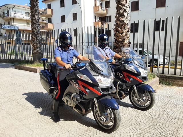 Controllo dei Carabinieri alle piazze dello spaccio di Corigliano-Rossano