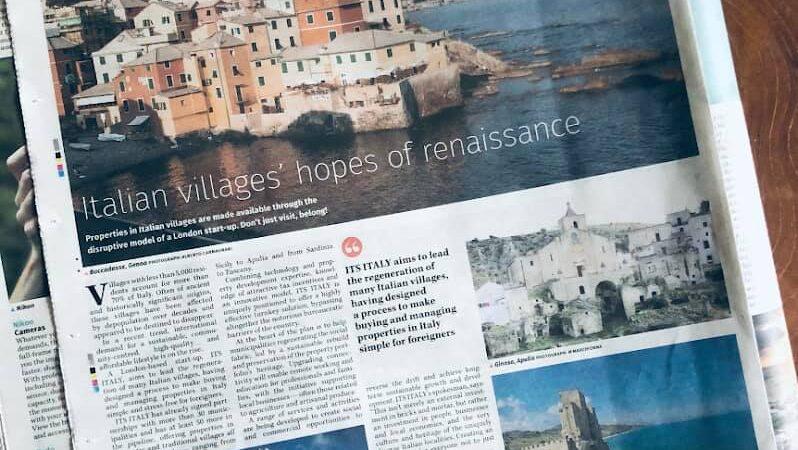 """Roseto Capo Spulico sulle pagine del giornale inglese """"The Guardian""""."""