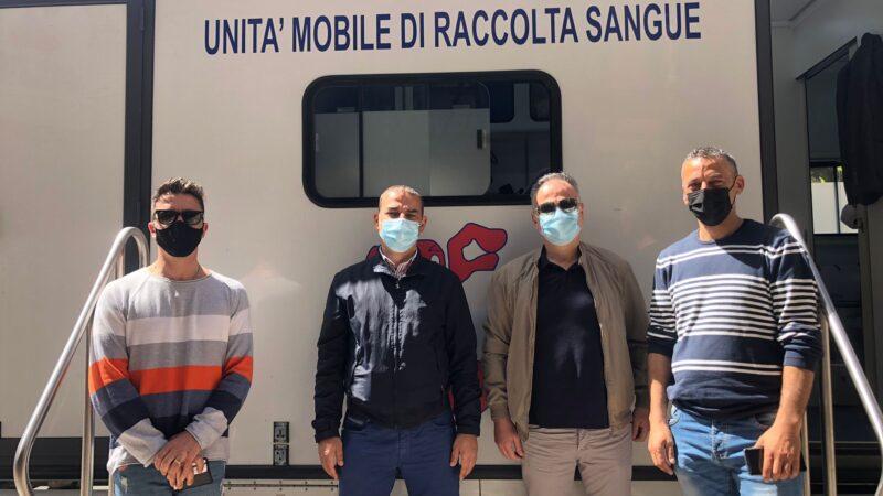 Il Sim Carabinieri Calabria ha aderito all'iniziativa per la raccolta di sacche di sangue.