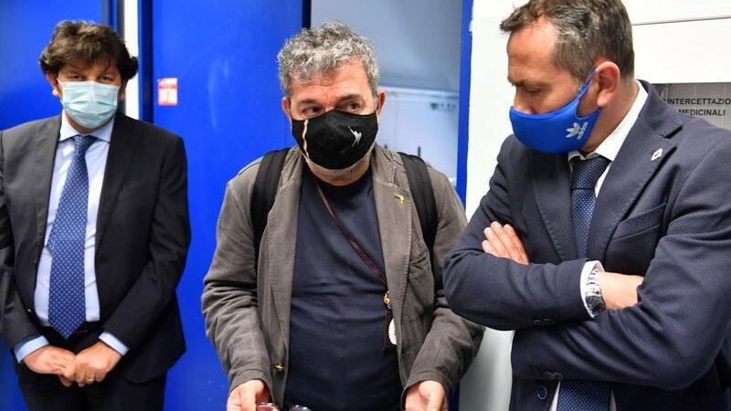 """Villa Bianca, nuovo sopralluogo di Spirlì: """"Pronti 15 posti covid, arriveremo a 100"""""""
