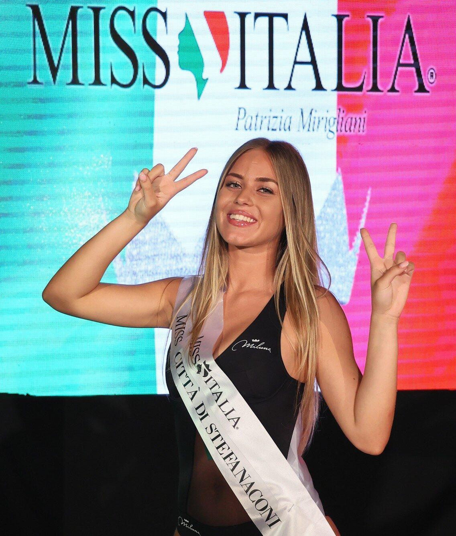 Miss Italia Calabria, Alessandra Sicilia vince la fascia di Miss Città di Stefanaconi