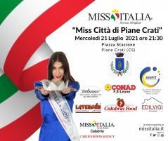 Miss Italia Calabria continua: 21 e 22 luglio con l'elezione di Miss Città di Piane Crati e Miss Città di Stefanaconi