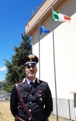 Cambio della guardia al comando della Stazione Carabinieri di Rogliano