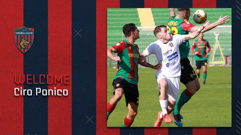 Notizie dal Cosenza Calcio: Ciro Panico è un nuovo calciatore rossoblù