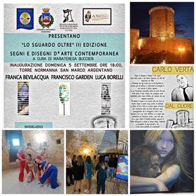 """San Marco Argentano: """"Lo sguardo oltre"""" III edizione AD 2021- Segni e disegni d'arte contemporanea"""