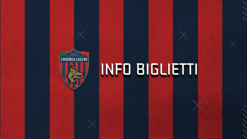 Notizie dal Cosenza Calcio, Cosenza – Vicenza: info prevendita