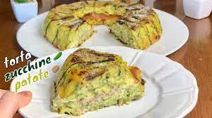 Oggi cucinAda: torta zucchine e patate