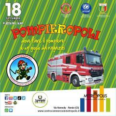 """Al Centro Commerciale Metropolis arriva """"Pompieropoli"""", dove fare il pompiere è un gioco da ragazzi"""
