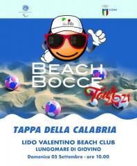 Il Beach Bocce Tour 2021 fa tappa in Calabria