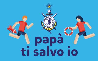 Notizie dal CSV di Cosenza, papà ti salvo io: bambini a scuola di soccorso balneare